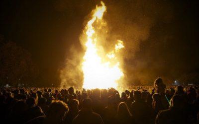 Mcr Platt Fields Bonfire & Fireworks
