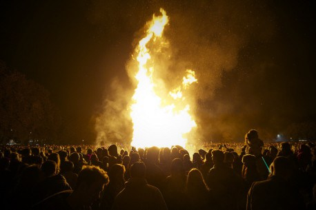 Platt Fields – Bonfire & Fireworks